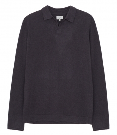 CLOTHES - WOOL & CASHMERE POLO SWEATER