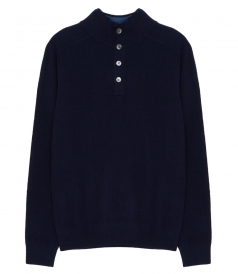 CLOTHES - WOOL & CASHMERE HIGH NECK SWEATER