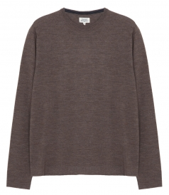 PULLOVERS - WOOL & CASHMERE CREW NECK SWEATER
