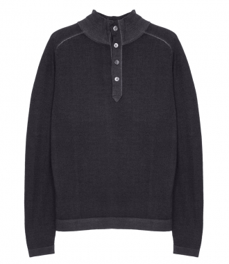 HARTFORD - MERINO WOOL HIGH NECK SWEATER