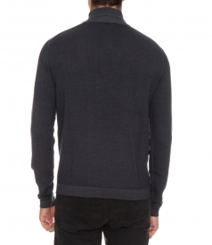 MERINO WOOL HIGH NECK SWEATER
