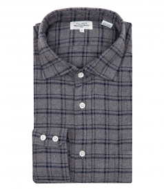 PLAID FLANNEL PAUL SHIRT