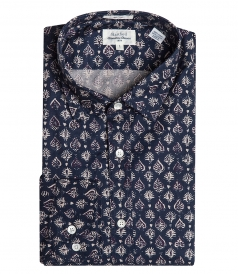 INDIAN PRINT TWILL PENN SHIRT