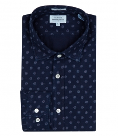 COTTON PRINTED PAUL SHIRT