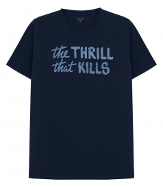 CLOTHES - THE THRILL LOGO T-SHIRT