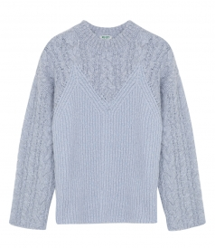KNITWEAR - MULTI-KNIT COMFORT SWEATER