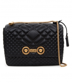 ICON QUILTED SHOULDER BAG