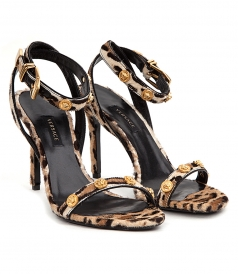 SHOES - ANKLE STRAP HIGH-HEEL SANDALS