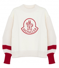 LOOSE FITTING MONCLER LOGO SWEATSHIRT