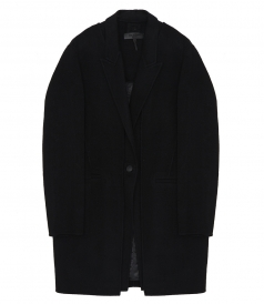 KAYE  TAILORED FIT 3-IN 1-VEST COAT
