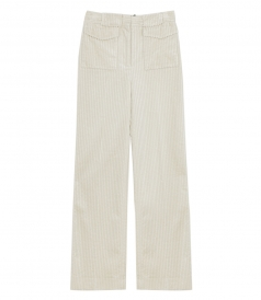 FRONT PATCH POCKET TROUSER