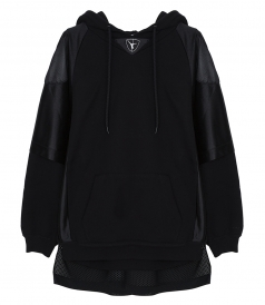 ALEXANDER WANG - FOOTBALL SWEATSHIRT