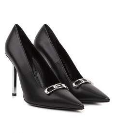AMAIA CEO LEATHER PUMPS