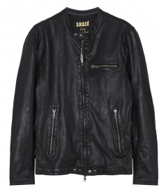 S.W.O.R.D. - ZIPPED LEATHER JACKET