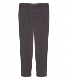 MASON'S - NEW YORK REGULAR FIT PANTS IN GABARDINE STRETCH