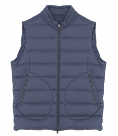 HERNO - ZIPPED GILET JACKET