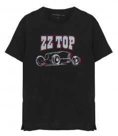 CREW NECK - ZZ TOP T-SHIRT