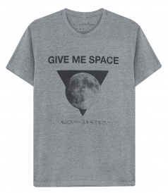 CREW NECK - GIVE ME SPACE T-SHIRT