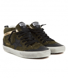 SHOES - MID STAR SNEAKERS IN MILITARY GREEN