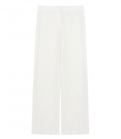 CREPE HIGH SLIT PANTS