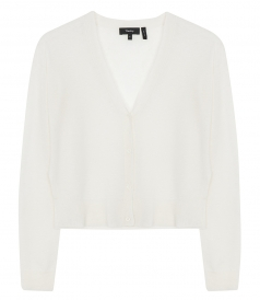 HANELEE CASHMERE CROPPED CARDIGAN