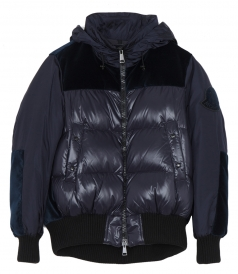 ELANION PUFFER JACKET FT VELVET BACK
