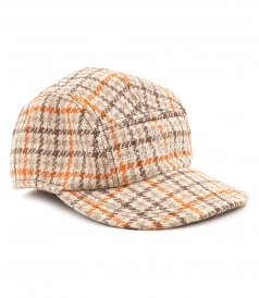 HATS - CHECKED CAP