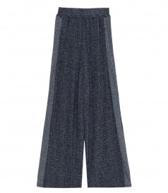 SHOPHIE PANTS IN NAVY LUREX