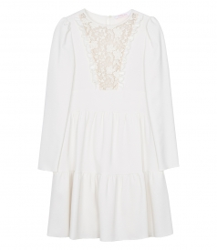 SEE BY CHLOE - LACE PANEL DRESS