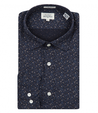 HARTFORD - FLORAL PRINT COTTON SAMMY SHIRT