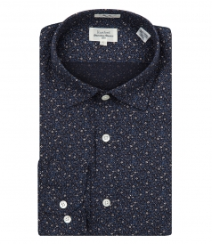 FLORAL PRINT COTTON SAMMY SHIRT