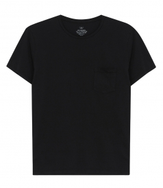SAVE KHAKI - SHORT SLEEVE SUPIMA POCKET TEE