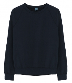 CREW NECK - LONG SLEEVE SUPIMA FLEECE CREW NECK