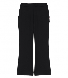 CLOTHES - GABARDINE FLARED PANTS