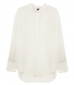 SHIRTS - WEEKENDER TIE NECK SHIRT