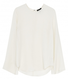 BRINGAM SILK LONG SLEEVE CLASSIC T-SHIRT