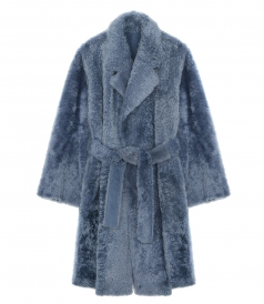 SHEARLING SOFT ROBE COAT