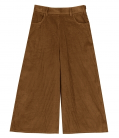 HIGH-WAIST CROPPED TROUSERS