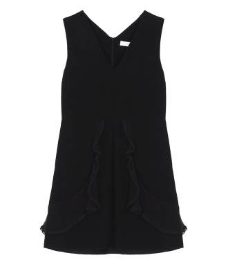 SEE BY CHLOE - LACE TRIM DRESS