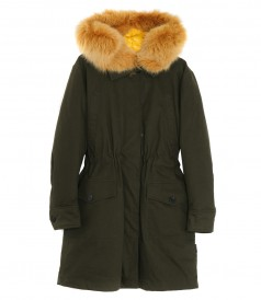 HYPOLAIS PARKA JACKET FT FUR LINING