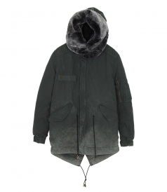 MR & MRS ITALY - PARKA MIDI
