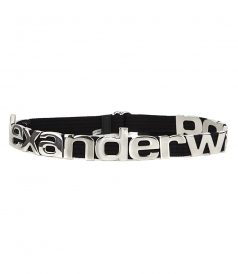 ALEXANDER WANG - METAL LETTERS BELT