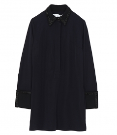 VICTORIA, VICTORIA BECKHAM - FLUID SHIRT DRESS
