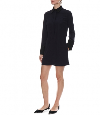 FLUID SHIRT DRESS