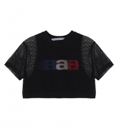 ALEXANDER WANG - T SHIRT WITH LOGO