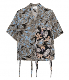 SS PATCHWORK CAMP SHIRT