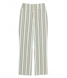 STRIPED KICK FLARE PANT