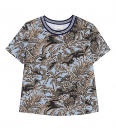 CLOTHES - SS FLORAL T SHIRT