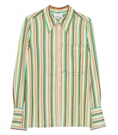 SHIRTS - LS STRIPED SHIRT WITH POCKET