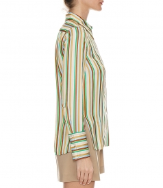 LS STRIPED SHIRT WITH POCKET